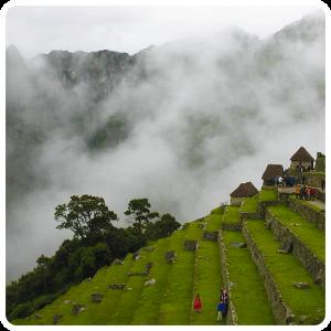 Andenes of Machu Picchu