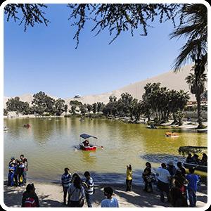 Visit to the Lagoon of Huacachina