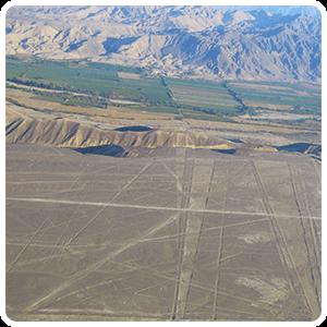 Pampa of Jumana in Nazca