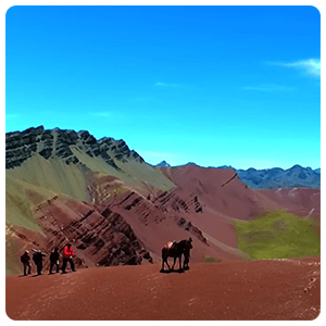 Amazing natural colors of Vinicunca