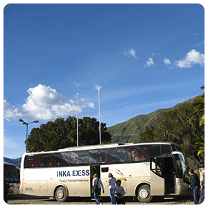 Bus from Cusco to Puno