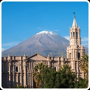 City of Arequipa Peru