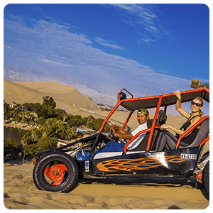 Dune buggy excursion in Huacachina