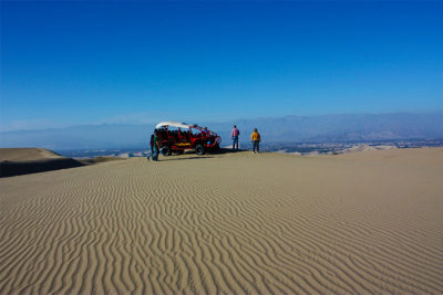 Tour to the Ballestas Islands and Huacachina Oasis