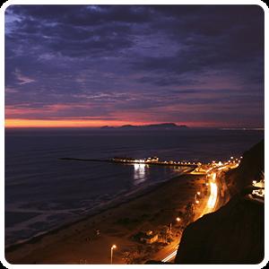 Lima City by night - Peru