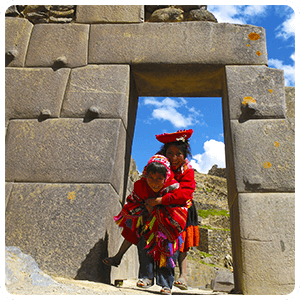 Visit to the Ollantaytambo Inca Fortress