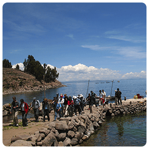 Port of Taquile Island