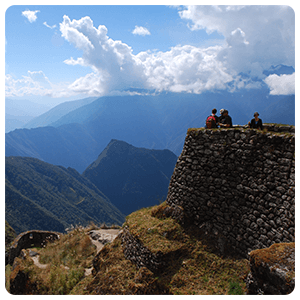 Ruins of the Inca Trail