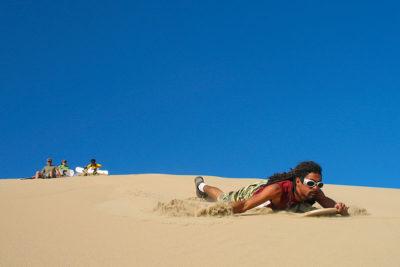 Sandboarding Tour on Cerro Blanco