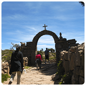 Taquile Island visit