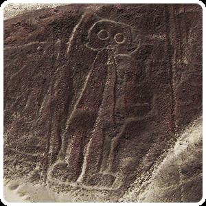 The Astronaut of the Nazca Desert
