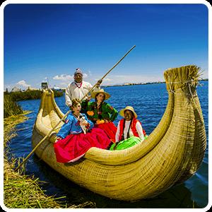Totora Reed boat Uros Islands