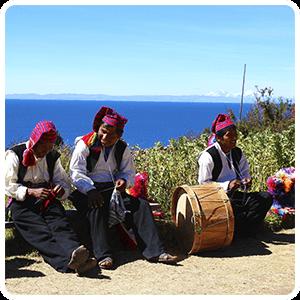 Visit to Taquile Island Peru
