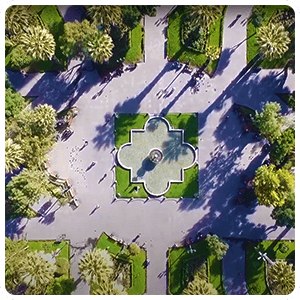 Aerial View of Arequipa main square