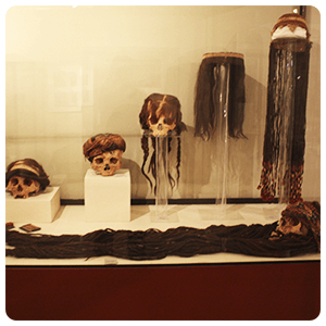 Ancient Wigs at Ica Museum