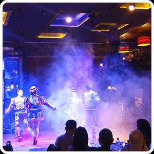 Andean dance at the Restaurant Dama Juana