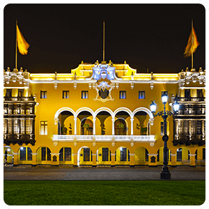 Building of the municipality of Lima