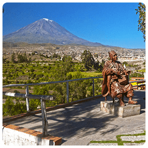 Carmen del Alto Lookout point