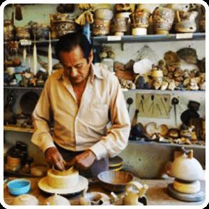 Ceramic Work Shop in Nazca
