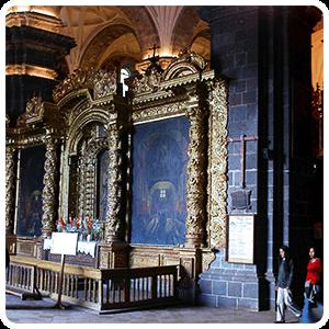 Cusco Cathedral Interior