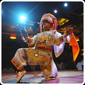 Danzante Show in Dama Juana