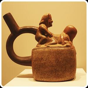 Erotic Moche Ceramic