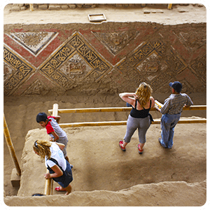 Excursion to the Moche Temple of the Moon