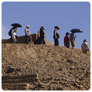 Guided tour of Pachacamac