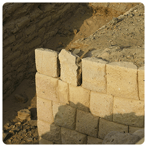 Inca Stone works in Paredones - Nazca