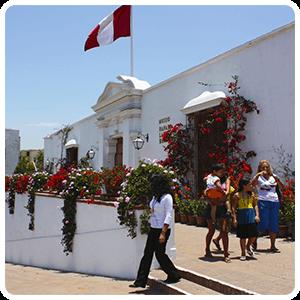 Larco Herrera Museum front door