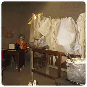 Maria Reiche Room at the Museum