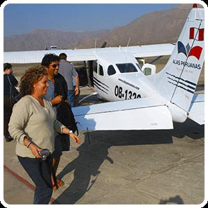 Nazca Lines visitors