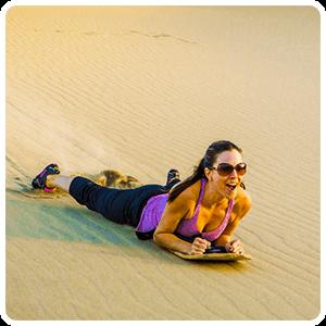 Sandboarding - Huacachina Peru Desert