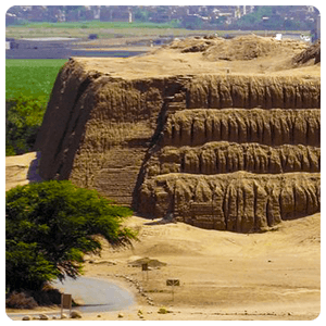 Sun Temple of the Moche Culture