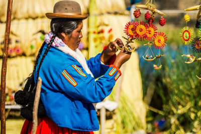 Tour to the Uros Floating Islands