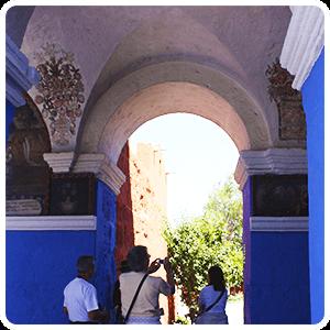 Touring around the Santa Catalina Monastery