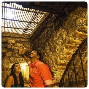 Underground cemetery of Lima