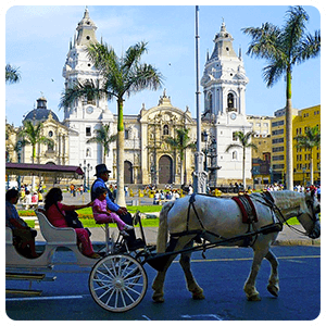 Visit to the Center of Lima