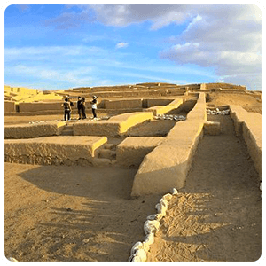 Visiting the Citadel of Cahuachi