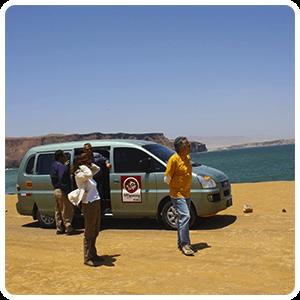 Visiting the Paracas Bay
