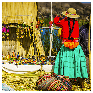 Visiting the Uros Floating Islands